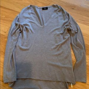 Vici Sweater with Side Zipper Detail